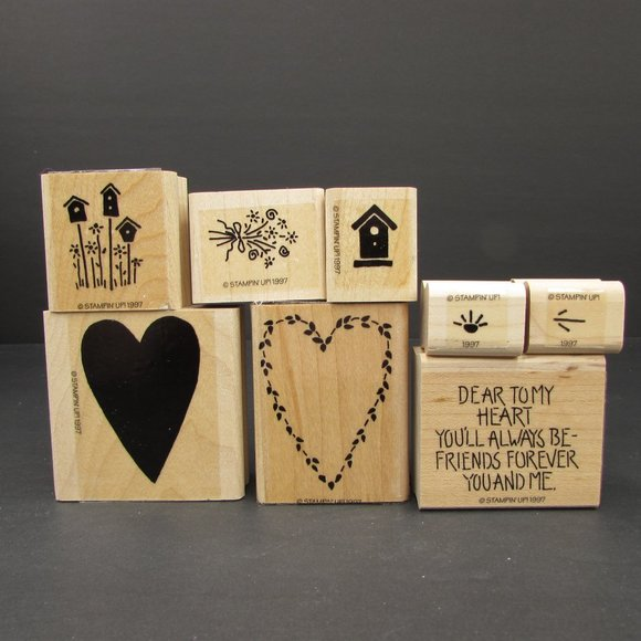 Stampin Up Dear to my Heart Set of 8 Friendship